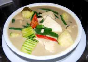 Thai Green Curry with Japanese Kombocha Squash