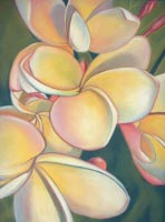 Courtesy of Helen Turner - Plumerias 20 X 26